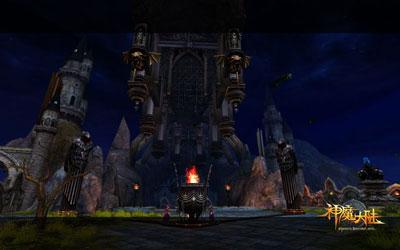 图片: 图2:《神魔大陆》血族新手村-暮光城堡.jpg