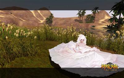图片: 图5:《神魔大陆》实景截图—一个人的风景.jpg
