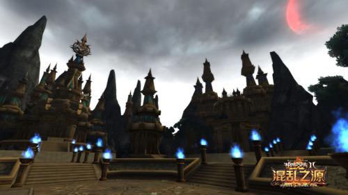 图片: 图4《神魔大陆·混乱之源》冷月高悬+永夜城.jpg